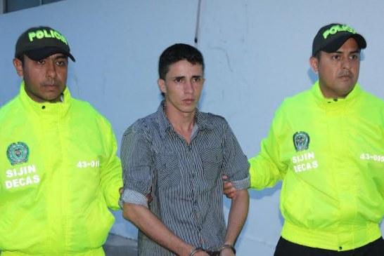 """Capturado alias """"el mono"""", acusado de matar a un hombre en Casimena"""