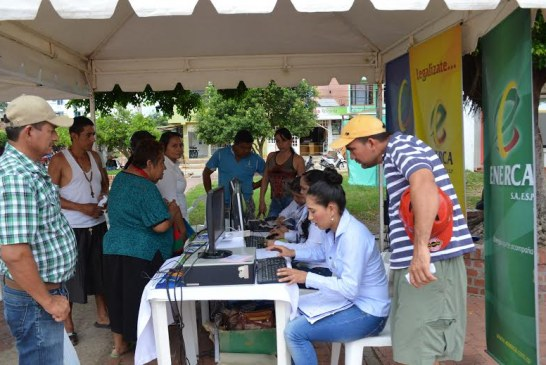 Enerca estará tres días atendiendo usuarios en Villanueva