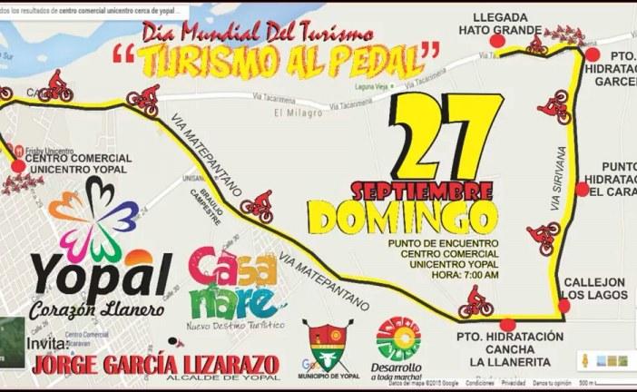 Yopal se une a la celebración este domingo del Día Mundial del Turismo
