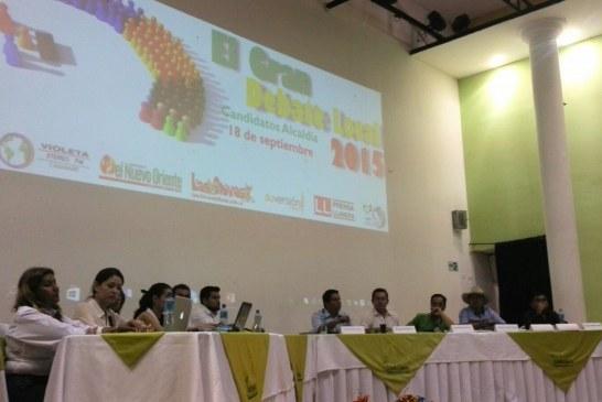 Exitoso debate de candidatos a la Alcaldía de Yopal