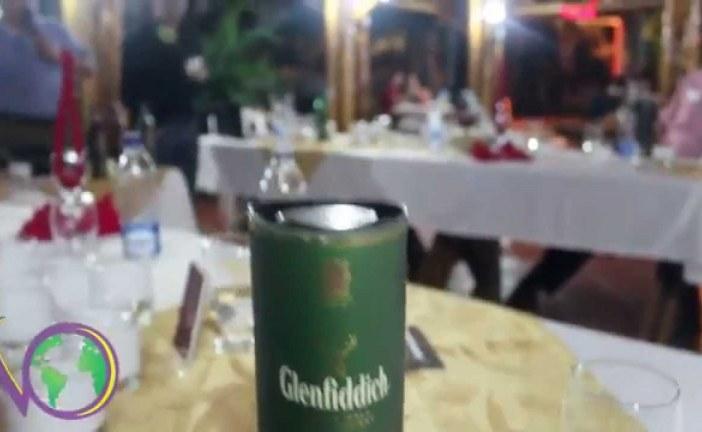 Presentación de whisky Glenfiddich