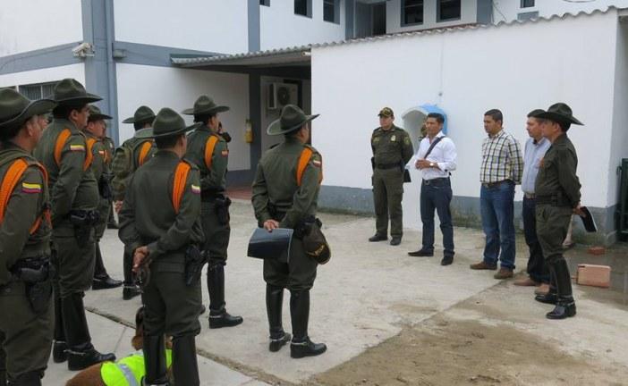 58 carabineros de la Policía llegan a Aguazul