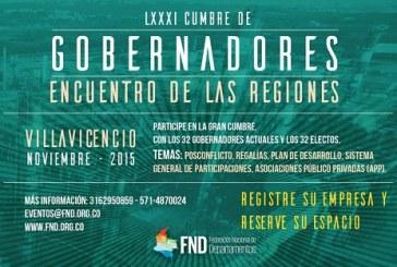 Hoy en Villavicencio sigue encuentro de Gobernadores electos con Presidente Santos