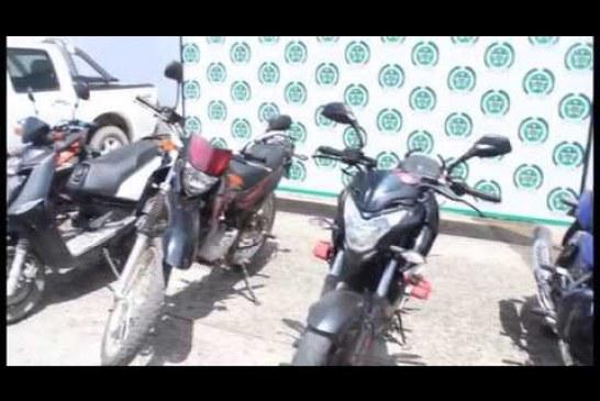 Policía Casanare recupera vehículos hurtados