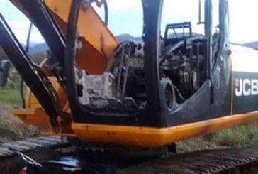 Maquinaria fue quemada en Paz de Ariporo