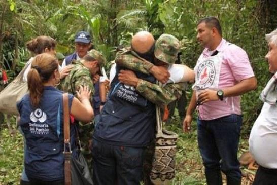 ELN liberó a soldados secuestrados.