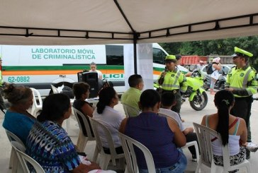 Campaña de seguridad vial de Navidad en el corredor Villavicencio- Yopal