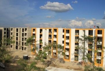 En San Marcos, ayer sortearon los 980 apartamentos a los beneficiarios