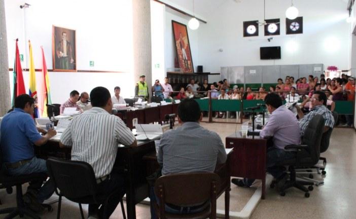 Por 7 días más se extenderán sesiones extraordinarias en el Concejo de Yopal