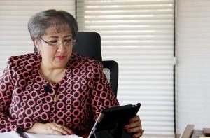 María Virginia Torres Gerente de la SAE.