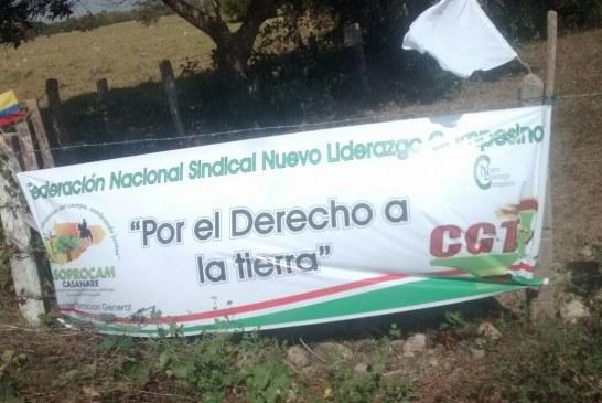 Familias campesinas que invaden fincas de la SAE en Casanare serían desalojadas