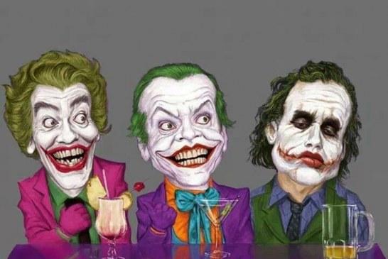 The joker (Guasón) a través del tiempo