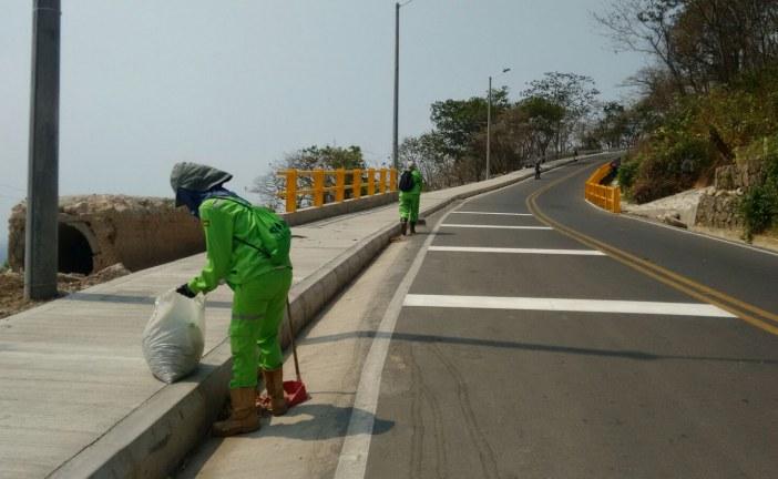 Cerca de 10 toneladas de basuras se recolectaron en sitios turísticos.