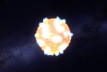 Así fue la primera explosión de una estrella que captó la NASA