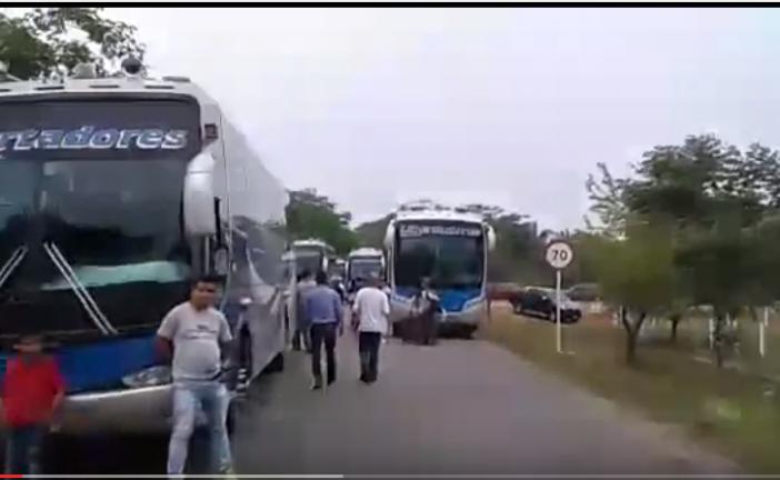 Bloqueos en la vía al norte de Casanare
