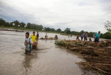 Alerta roja en los ríos Meta y Cravo Sur