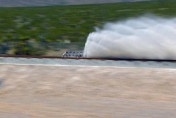 Hyperloop pasa con éxito su primer test: de 0 a 190 km/h en dos segundos