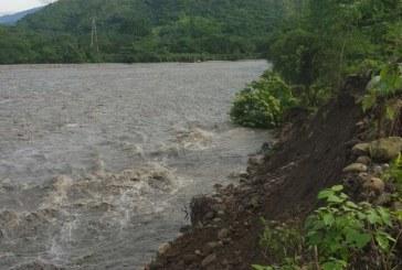 Avalan obra de protección sobre el río Cravo Sur frente al casco urbano de Yopal