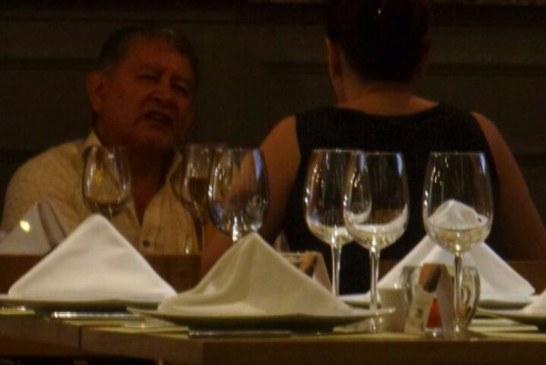Raro encuentro de magistrado con diputada de Casanare, quien se halla inmersa en una demanda