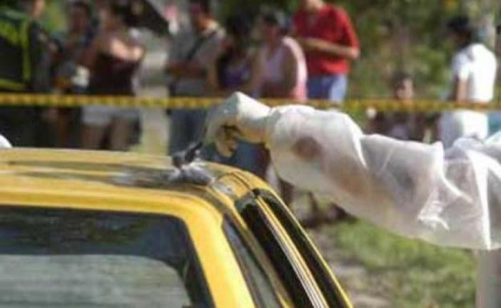 Taxista de Aguazul fue asesinado con impactos de arma de fuego