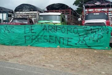 [AUDIO] Transportadores de carga del norte de Casanare también se une a paro nacional