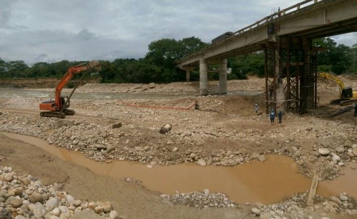 Un plazo más que venció y no se concluyen trabajos de rehabilitación de puente sobre el río Ariporo