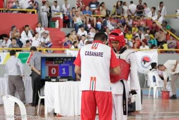 Más de 100 taekwondistas de Casanare se dieron cita en Yopal
