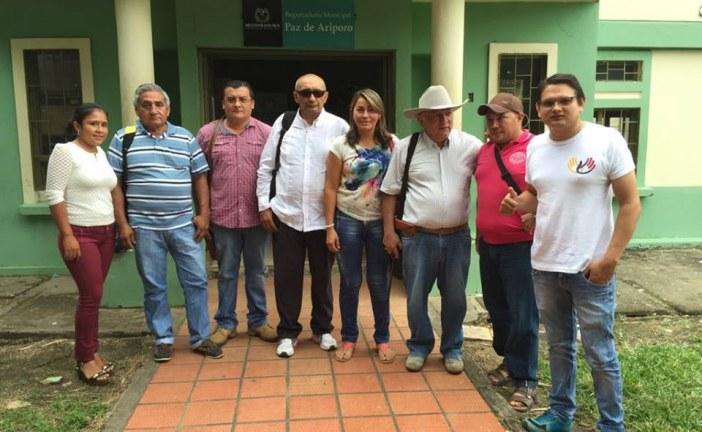 Se conformó e inscribió oficialmente comité por el si al plebiscito en la registraduria municipal de Paz De Ariporo