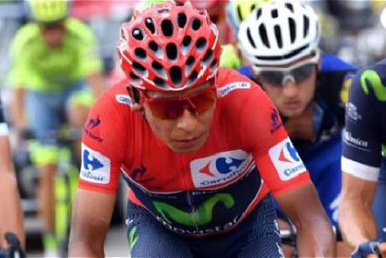 Primera prueba de Nairo para defender el liderato de la Vuelta