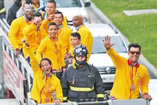 Bienvenidos, campeones paralímpicos
