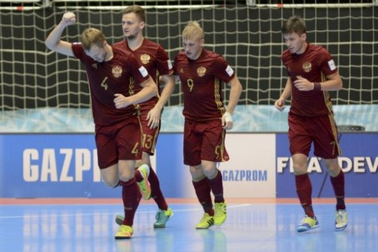 Rusia, primer finalista del Mundial Fútsal Colombia 2016