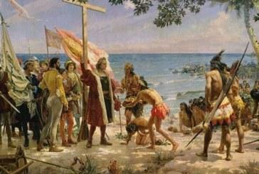 #Violetaenlahistoria: un día como hoy Cristóbal Colón llegó a América