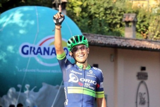 Esteban Chaves, primer colombiano en ser campeón del Giro de Lombardía