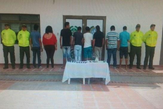 Desarticulada banda delincuencial dedicada al micro tráfico en Paz de Ariporo