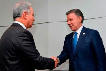 Santos se reunió con Uribe y Pastrana