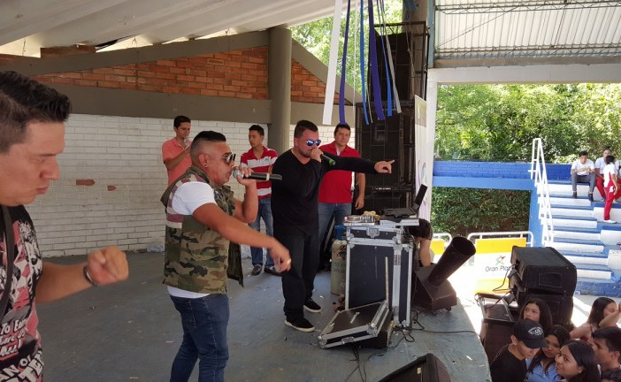 #VAMOSALCOLE Así se vivió la presentación de CODIGO SECRETO en el colegio ITEY