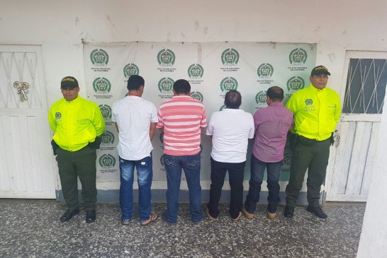 Desarticulada banda dedicada al abigeato en los municipios de Trinidad y San Luis de Palenque