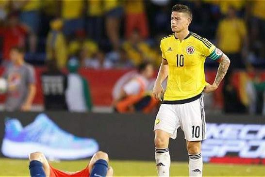 Colombia siguió cediendo terreno en su casa: empató 0-0 con Chile