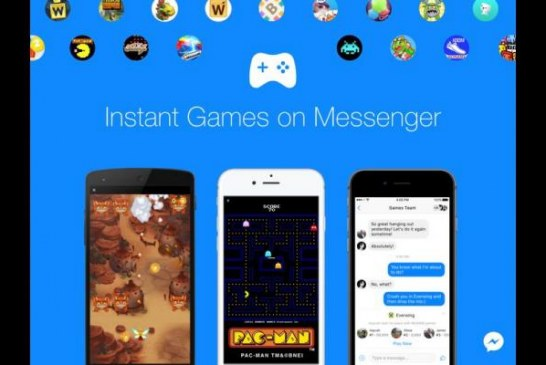Facebook busca conquistar con Messenger parte del mercado de juegos móviles