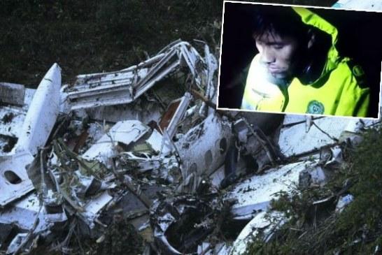 """""""¿Y mi tripulación?"""": dramático video del rescate de técnico de avión de Chapecoense"""