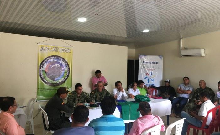 Ejército Nacional fortalece lazos de amistad con las comunidades indígenas de Arauca