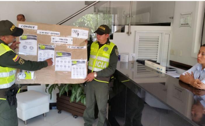 Policía de Turismo socializó nuevo Código en Hoteles de Yopal
