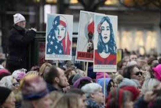 Miles de personas abarrotan Washington para marcha que puede ser histórica