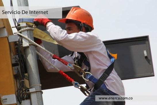 Enerca restringe servicio de energía por construcción de redes