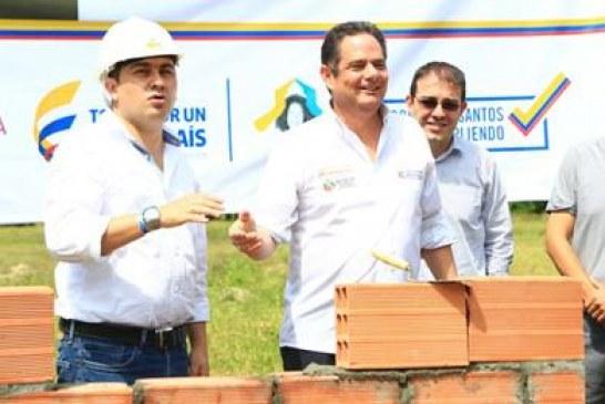 En 58 municipios de todo el país ya comenzó la construcción de más casas gratis