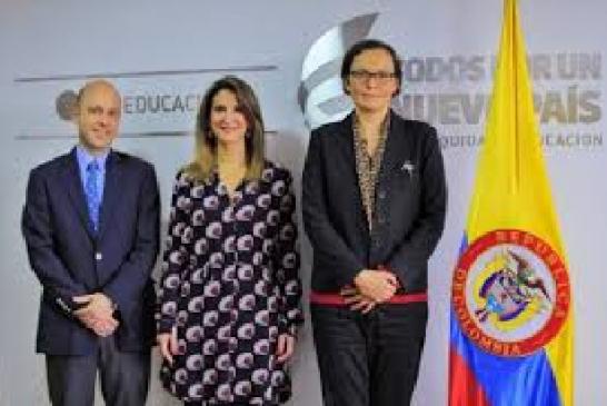 Pablo Jaramillo Quintero.  Viceministro de Educación Preescolar, Básica y Media