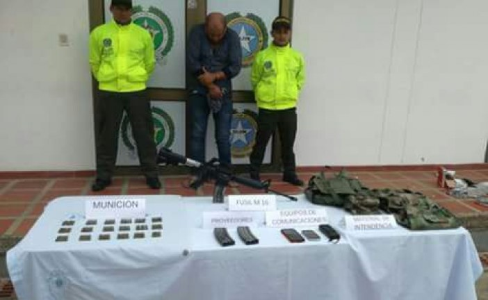 """Capturado José Donaldo Méndez Vargas, alias """"Mono Milton"""" criminal que azotaba a Casanare y Arauca."""