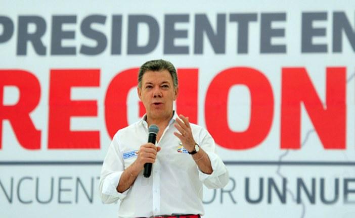 Santos anuncia que ahorros de regalías vayan a vías terciarias
