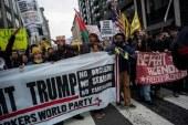 Detenidas 90 personas en choques entre manifestantes y policías en Washington