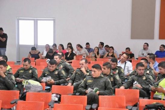 Capacitación del nuevo Código Nacional de Policía y Convivencia Ciudadana se realiza a personal Policial, Inspectores y Corregidores de Yopal